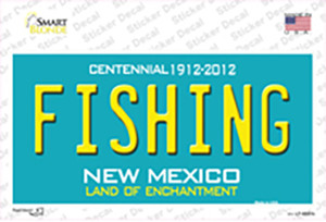 Fishing New Mexico Wholesale Novelty Sticker Decal