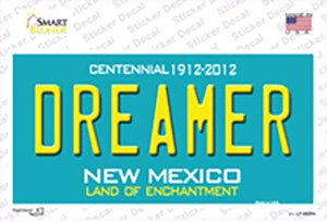 Dreamer New Mexico Wholesale Novelty Sticker Decal
