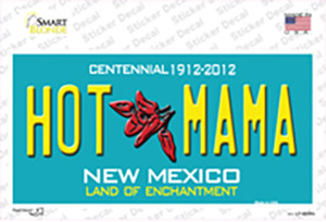 Hot Mama New Mexico Wholesale Novelty Sticker Decal