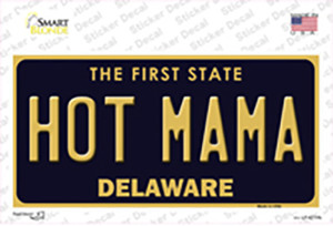 Hot Mama Delaware Wholesale Novelty Sticker Decal