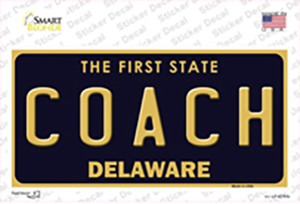Coach Delaware Wholesale Novelty Sticker Decal