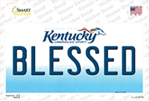 Blessed Kentucky Wholesale Novelty Sticker Decal