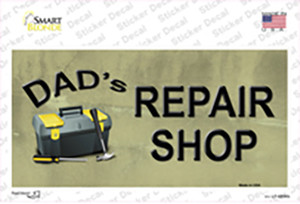 Dads Repair Shop Wholesale Novelty Sticker Decal
