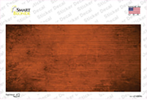 Orange Oil Rubbed Solid Wholesale Novelty Sticker Decal