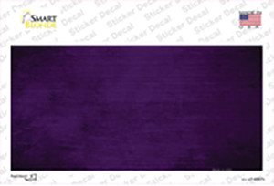 Purple Oil Rubbed Solid Wholesale Novelty Sticker Decal