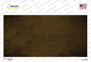 Brown Oil Rubbed Solid Wholesale Novelty Sticker Decal