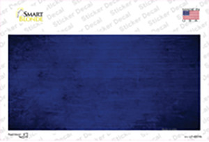Royal Blue Oil Rubbed Solid Wholesale Novelty Sticker Decal