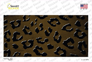 Brown Black Cheetah Oil Rubbed Wholesale Novelty Sticker Decal