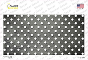 Gray White Small Dots Oil Rubbed Wholesale Novelty Sticker Decal