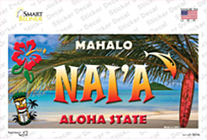 Naia Hawaii State Wholesale Novelty Sticker Decal