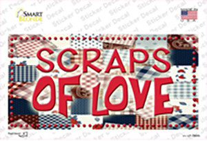 Scraps Of Love Wholesale Novelty Sticker Decal