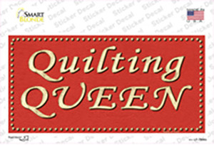 Quilting Queen Wholesale Novelty Sticker Decal