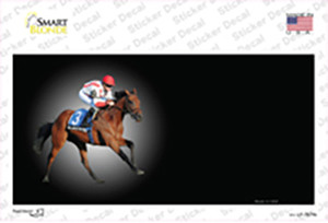 Horse Racing Offset Wholesale Novelty Sticker Decal