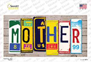 Mother Wood Art Wholesale Novelty Sticker Decal
