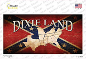 Dixie Land Wholesale Novelty Sticker Decal