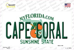 Cape Coral Florida Wholesale Novelty Sticker Decal