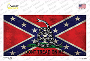 Confederate Dont Tread Wholesale Novelty Sticker Decal