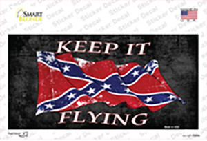Confederate Keep It Flying Wholesale Novelty Sticker Decal