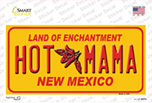 New Mexico Hot Mama Wholesale Novelty Sticker Decal