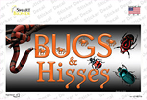 Bugs & Hisses Wholesale Novelty Sticker Decal