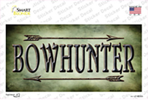 Bowhunter Wholesale Novelty Sticker Decal