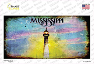 Mississippi State Rusty Wholesale Novelty Sticker Decal