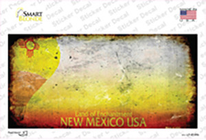 New Mexico State Rusty Wholesale Novelty Sticker Decal