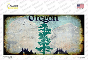 Oregon State Rusty Wholesale Novelty Sticker Decal