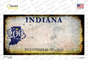 Indiana Rusty Wholesale Novelty Sticker Decal