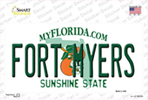 Fort Myers Florida Wholesale Novelty Sticker Decal