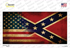 American Confederate Flag Wholesale Novelty Sticker Decal