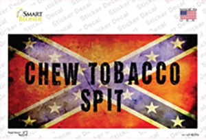Chew Tobacco Spit Wholesale Novelty Sticker Decal