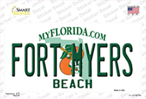 Fort Myers Beach Wholesale Novelty Sticker Decal