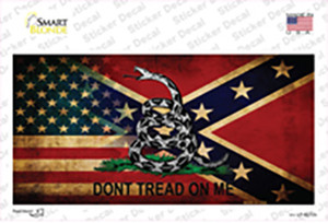 American Confederate Dont Tread Wholesale Novelty Sticker Decal