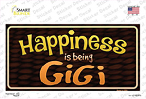 Happiness Is Being Gigi Wholesale Novelty Sticker Decal