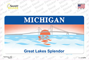 Michigan Great Lakes Wholesale Novelty Sticker Decal