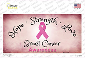 Breast Cancer Wholesale Novelty Sticker Decal