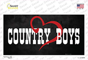 Country Boys Wholesale Novelty Sticker Decal