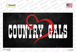 Country Gals Wholesale Novelty Sticker Decal