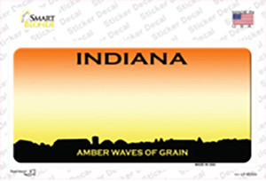Indiana Amber Waves Wholesale Novelty Sticker Decal