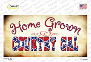 Home Grown Country Gal Wholesale Novelty Sticker Decal