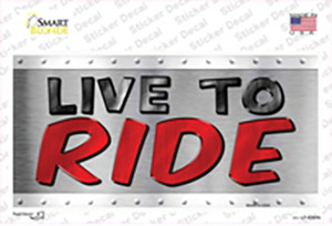 Live To Ride Wholesale Novelty Sticker Decal
