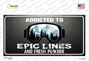 Addicted Wholesale Novelty Sticker Decal