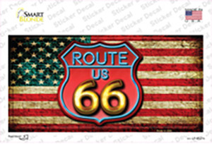 American Route 66 Neon Wholesale Novelty Sticker Decal