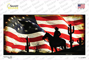 American Cowboy Wholesale Novelty Sticker Decal