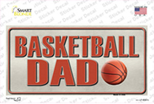 Basketball Dad Wholesale Novelty Sticker Decal
