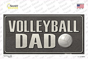 Volleyball Dad Wholesale Novelty Sticker Decal