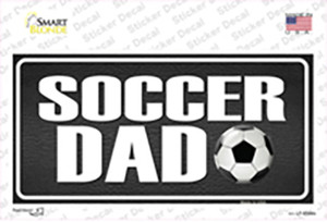 Soccer Dad Wholesale Novelty Sticker Decal