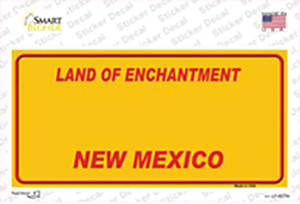 New Mexico Yellow Wholesale Novelty Sticker Decal