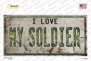 I Love My Solider Wholesale Novelty Sticker Decal